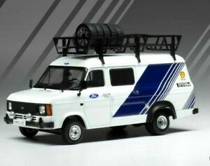 IXO 1/43 D/CST FORD TRANSIT MK2 MKII TEAM FORD RALLY ASSISTANCE/SUPPORT VAN 1986