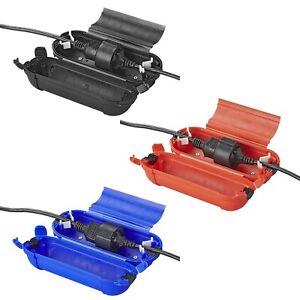 Sicherheitsbox für Schuko Stecker Kabelbox Wasserabweisend Regenschutz Schutzbox