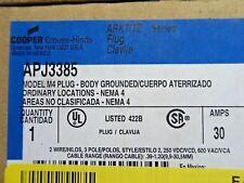 CROUSE-HINDS APJ3385 MODEL M4 PLUG