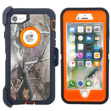 Heavy Duty Hard Cover + Belt Clip Holster Stand Armor Case for Iphone 7/8/Plus
