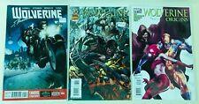 Signed Marvel Comics Lot Wolverine Origins X-Men Est. Value $120 Autographed