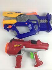 Nerf N-Strike Dart Tag  2 Toy Gun Lot Firefly  REV 8