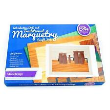 Stonehenge Traditional Marquetry Craft Kit with Free DVD 260x188mm