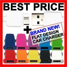 USB 3.0 Car Charger Adapter + Data Cable for Samsung Galaxy S5 SV Note 3 N9000