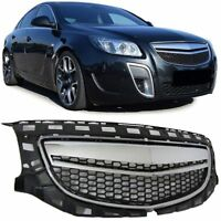 DEBADGED CHROME & BLACK GRILL FOR VAUXHALL INSIGNIA 07/2008-05/2013 MODEL