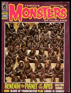 FAMOUS MONSTERS #80 VG/F  (PLANET OF THE APES) WARREN