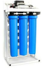 Commercial Grade Reverse Osmosis Water System 200 GPD with Booster Pump
