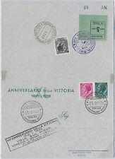 55469 - REPUBBLICA - CARTOLINA con ANNULLO SPECIALE : 40o ANNIVERSARIO VITTORIA