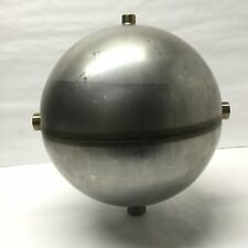 Welded Stainless Steel Hollow Spherical Vessel Reactor Mixer 3 Port 10 8l