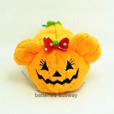 """3.5"""" New mini  Halloween Pumpkin Minnie Tsum Tsum Soft Stuffed Plush Toy Doll"""