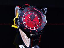 Invicta Men 48mm Red Combat NWO CCCP Sea Anchor Russian Grand Diver Strp Watch