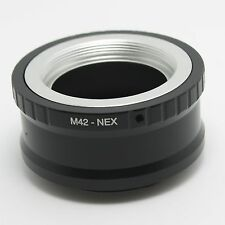 M42 screw Zenit Zeiss Lens to Sony Emount adapter NEX-7 5T 6 A6000 A7 A7R A5100