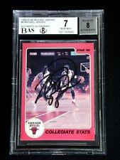 MICHAEL JORDAN SIGNED 1986 STAR 1984 CARD #2 AUTOGRAPH AUTO BECKETT BGS RARE!