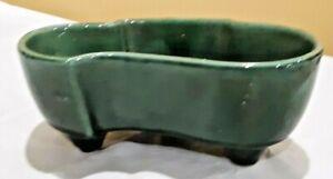 Vintage MCM Green Planter  402 USA Pottery
