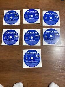 Math Advantage 2002 Encore Software Win/ Mac 7 CD Bundle