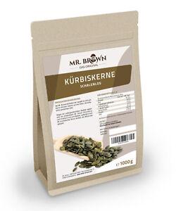Kürbiskerne ShineSkin OHNE Schale 1 kg Kerne geschält (11,79 EUR/kg)