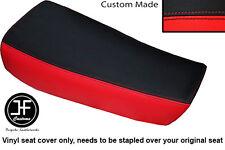 RED & BLACK VINYL CUSTOM FOR HUSQVARNA CR 250 430 500 1983 ALLY TANK SEAT COVER