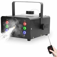 Nebelmaschine UKing 1500W Mini Effektmaschine LED Party 1Liter Schwarz OVP fehlt