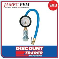 Jamec Pem Dial Gauge Inflator 50 mm Clip On Chuck - 02.0135