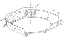 VAUXHALL CARRIER - GENUINE NEW - 13275550