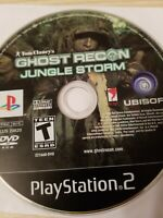 GHOST RECON: JUNGLE STORM - PS2 - PlayStation 2 - Disc Only - Very Good!