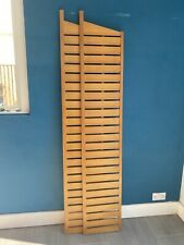 Ladderax ladders (x2)  made of teak. Sold as a set, retro, vintage, original