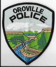Oroville Police Department, California Shoulder Patch