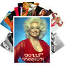Postcards Pack [24 cards] Dolly Patron Country Folk Music Vintage Posters CC1243