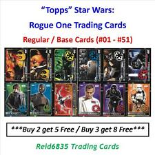 """Topps"" Star Wars: Rogue One Trading Cards - Regular / Base Cards (#01 - #51)"
