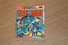 DC HEROES ROLE PLAYING REFERENCE BATMAN - VINTAGE BOOK SEALED 1985 MAYFAIR GAME