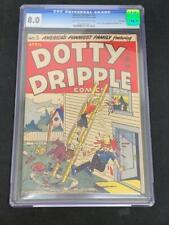 DOTTY DRIPLE COMICS #5 (1949), Harvey Publications CGC 8.0