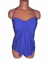 NWT by GOTTEX 12BE-T12 Royal Purple Fly Away TANKINI Bathing Suit Top