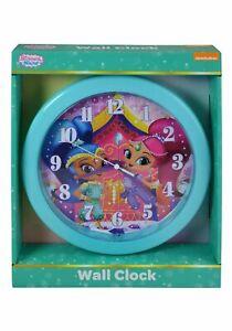"Shimmer & Shine 10"" Round Wall Clock"