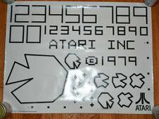 "26"" X 20"" 1979 Rare Atari Sticker Promotional Poster Video Game"