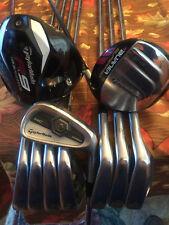 TaylorMade Complete Golf Set R9 Supertri, Burner SuperFast 3 Wood, TP 3-PW
