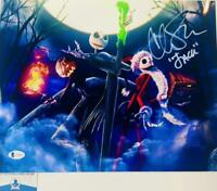 Chris Sarandon signed Jack Skellington 11X14 photo BAS COA WAO4882
