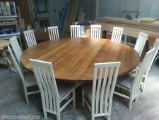 Oak Country 60cm-80cm Height Round Kitchen & Dining Tables