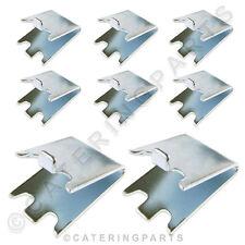 8 Pack pc02 Regal Unterstützung kein Pilaster Clip Halterung für Kühlschrank Gef...