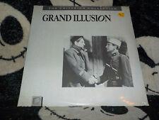 Grand Illusion NEW SEALED Criterion Laserdisc LD Free Ship $30 Orders
