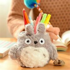 Cute Pen Holder Kawaii Pencil Organizer Home Desk Decoration Plush Desktop Stand
