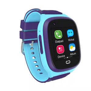 NEW Waterproof Kids Smart Watch Location Tracking GPS Tracker SOS Video Call