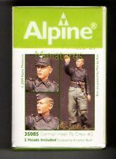 ALPINE MINIATURES 35085, German Heer Panzer Crew #2 , SCALE 1:35
