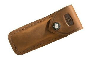Buck Knives 110 Folding Hunter Distressed Brown Genuine Leather Sheath