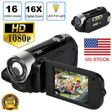 Video Camera Camcorder Vlogging Camera Full HD 1080P Digital Portable Camera US