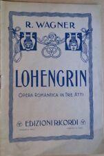 LOHENGRIN-OPERA ROMANTICA IN TRE ATTI-R.WAGNER DI C.MARCHESI