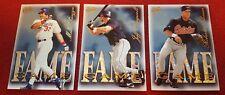 1997 Fleer Ultra Fame Game Insert Baseball Card Lot Of 3 Cards