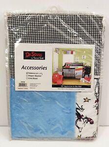 """Dr Seuss Cat In The Hat Valance Curtain By Lab Trend """"New"""""""