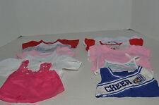 Build A Bear~#3~Assortment Of 10 Girl's Clothes~10 Shirts~G2
