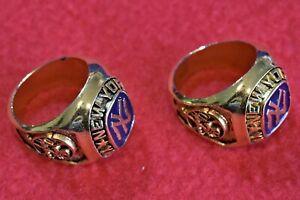 New York Yankees Souvenir Rings (2) Size 7 Citibank Sponsored Ring Day