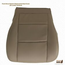 2004 Toyota Tundra Front Driver Bottom Leather Replacement Seat Cover Color Tan